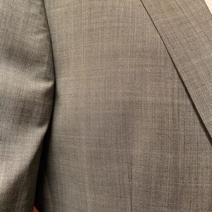 Other - Light gray windowpane suit
